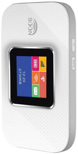 ראוטר סלולרי נייד Boon 4G LTE Wi-Fi